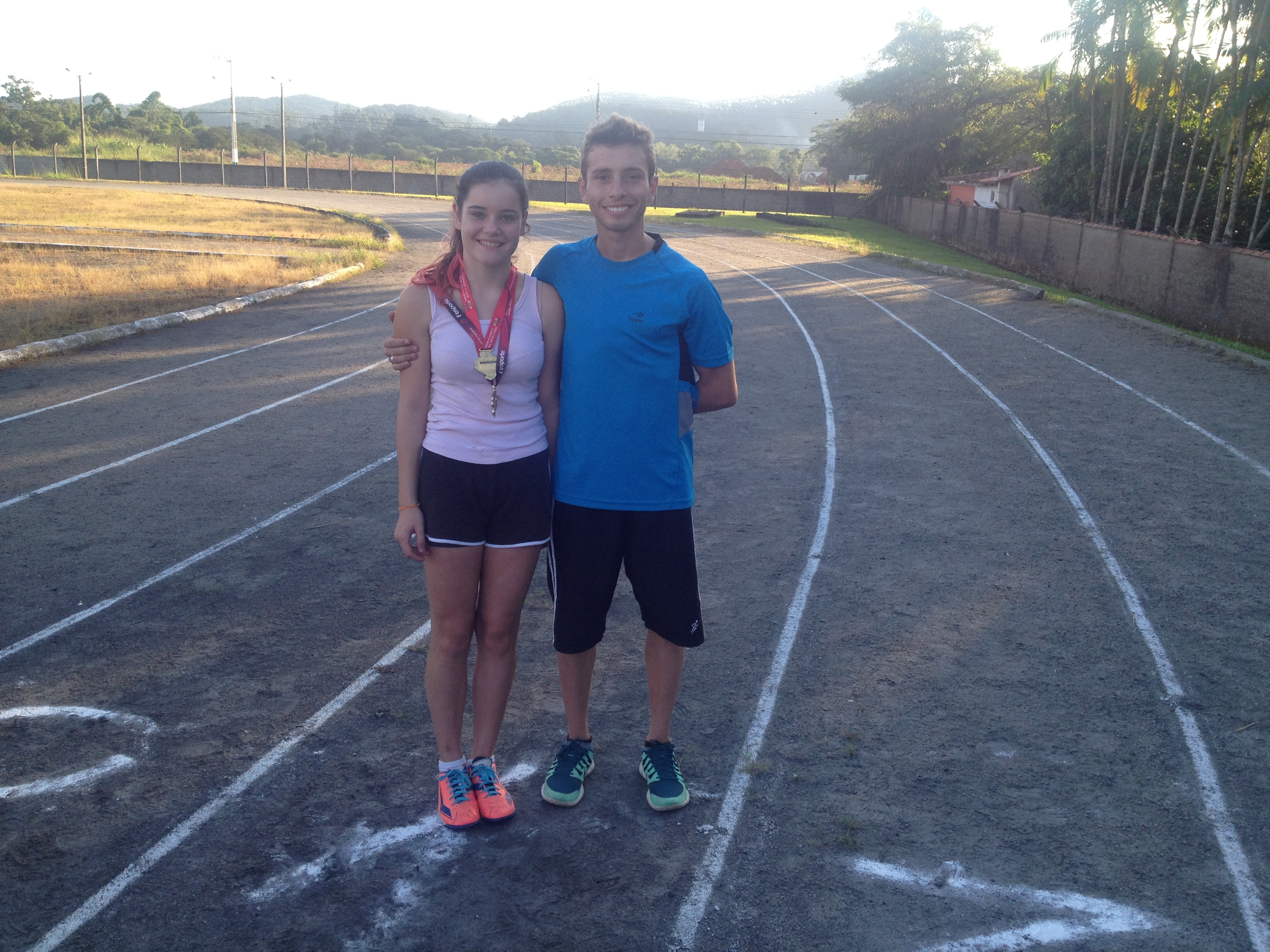 Brenda da Cunha _ Medalhista no Atletismo 250 metros
