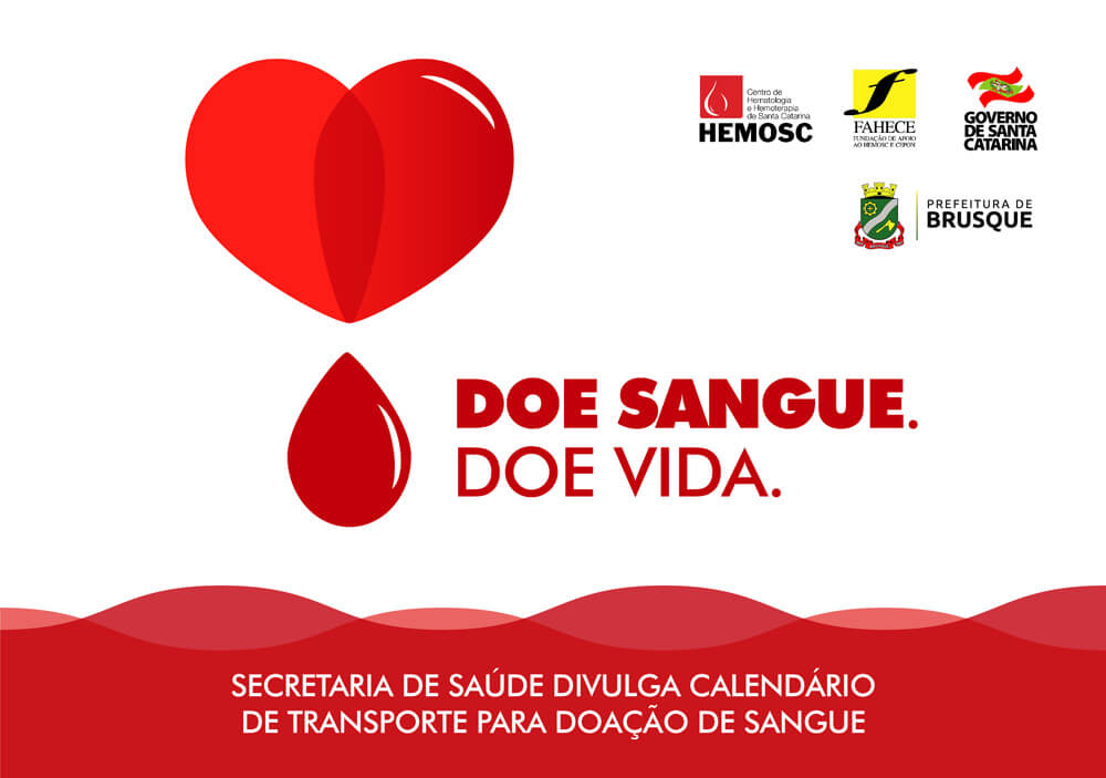 Doe Sangue, Doe vidas.