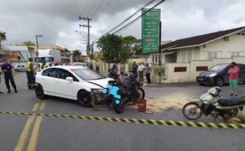 acidente brusque