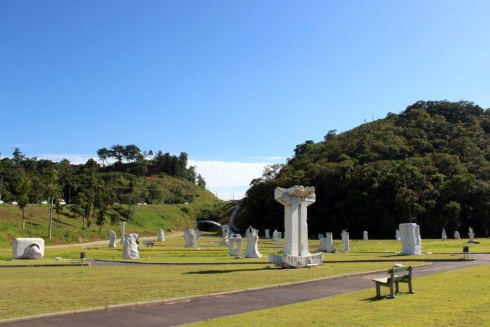 parque das esculturas brusque